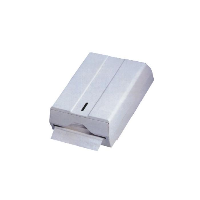 Zásobník na papírové ručníky 450 ks, plast, bílý