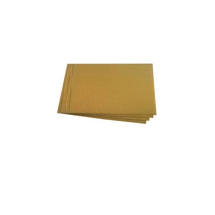 Zlatá vlnitá lepenka LINKA 34 x 25 cm, 10 ks