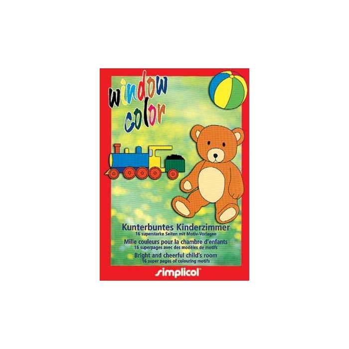 Šablony ke slupovacím barvám - dětský pokoj