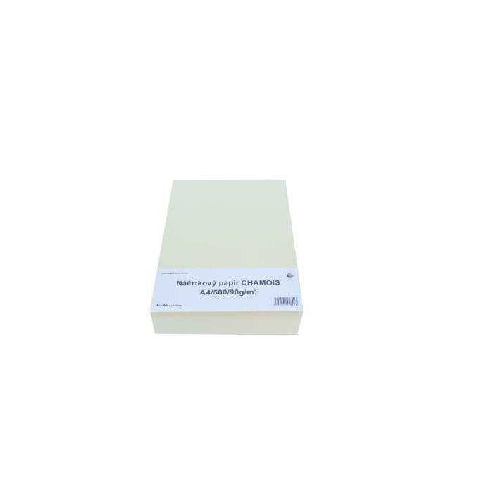 Náčtrníkový papír A4 500 listů, 90 g