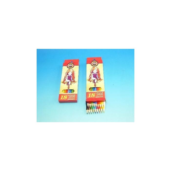 Trojhranné pastelky 6 ks