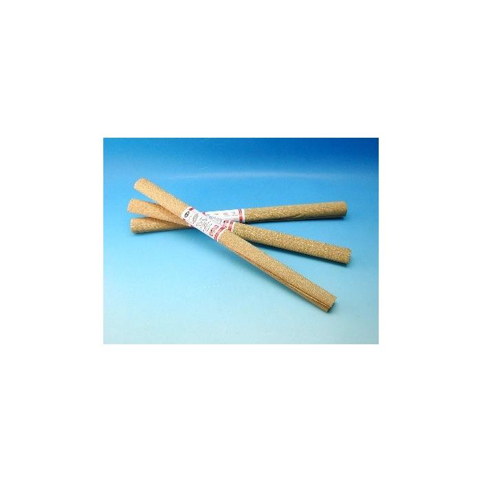 Krepový papír - zlatý, 1 ks