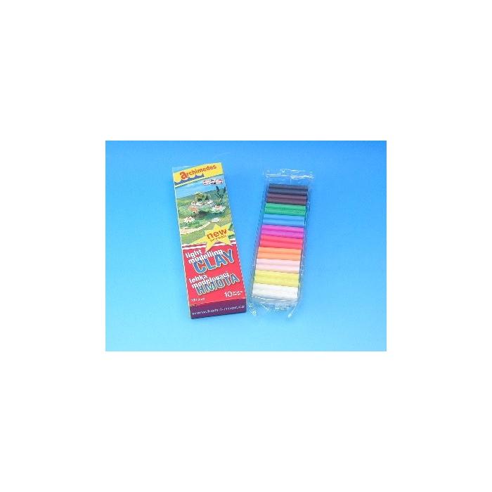 Lehká modelovací hmota plovoucí, 10 barev