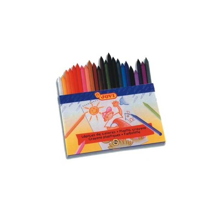 Pastelky PLASTICOLOR 24 ks
