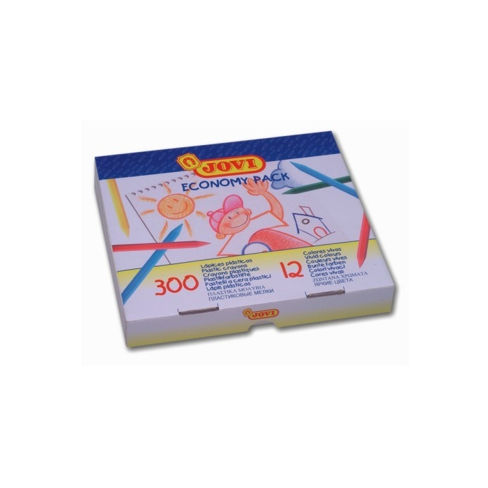 Pastelky PLASTICOLOR ECONOMIC 300 ks