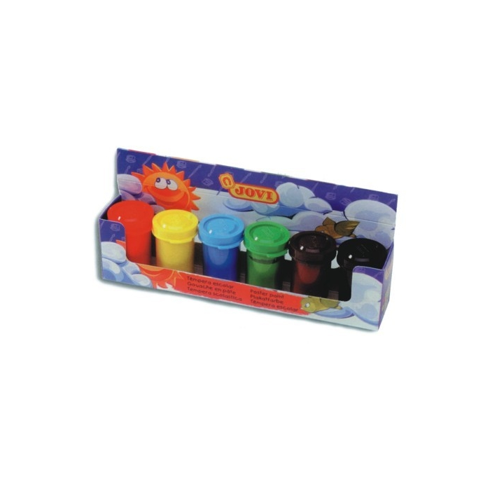 Temperové barvy JOVI 6 x 15 ml