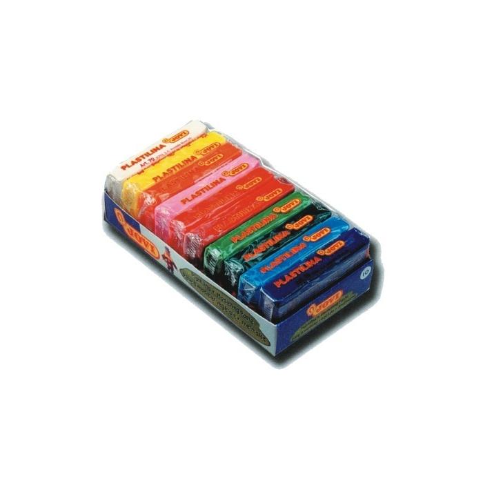Plastelína JOVI 10 x 50 g, 10 barev