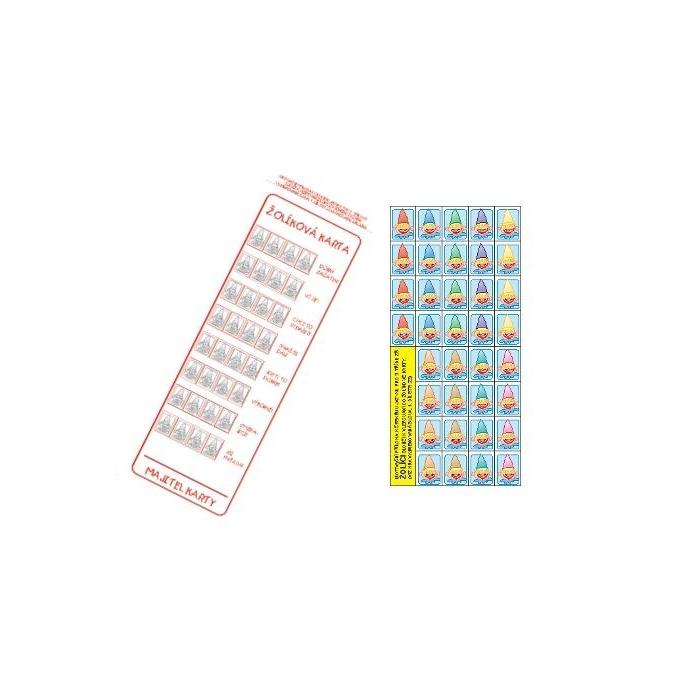 Žolíková karta + samolepky
