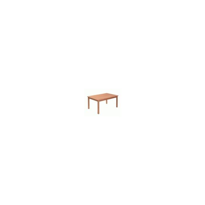 Stůl OBDÉLNÍK MASIV 120 x 80, výška 64 cm