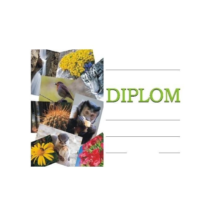 Diplom A4 - Biologie, přírodověda