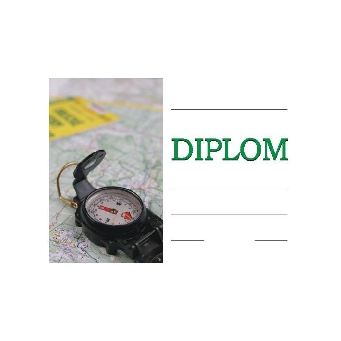 Diplom A4 - Turistický
