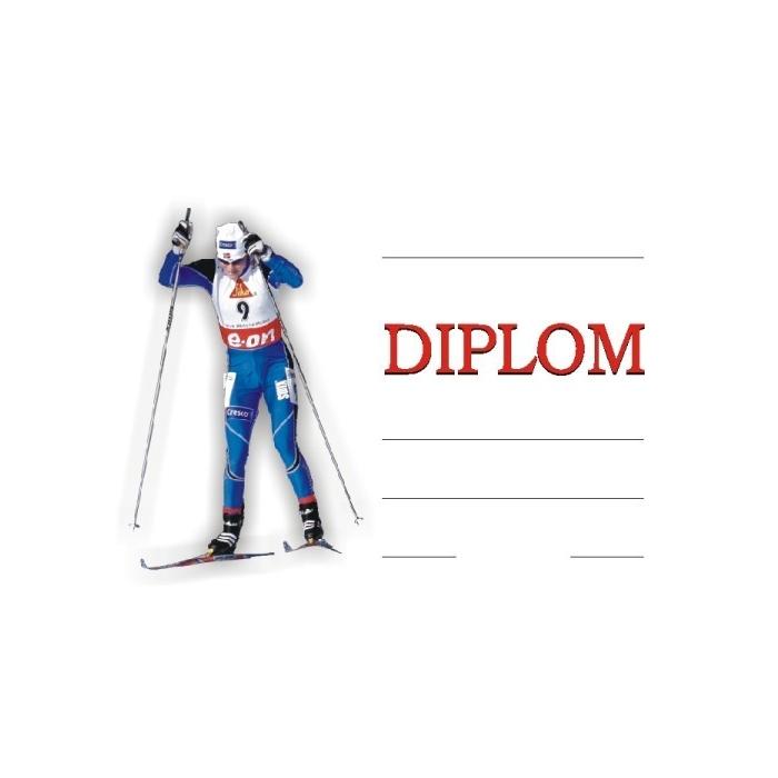 Diplom A4 - Zimní běžky