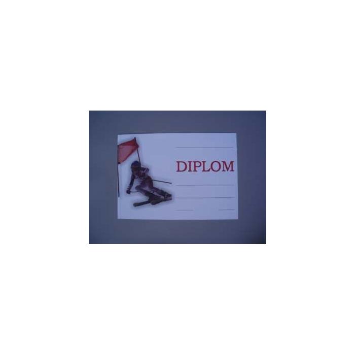 Diplom A4 - Zimní slalom, sjezd