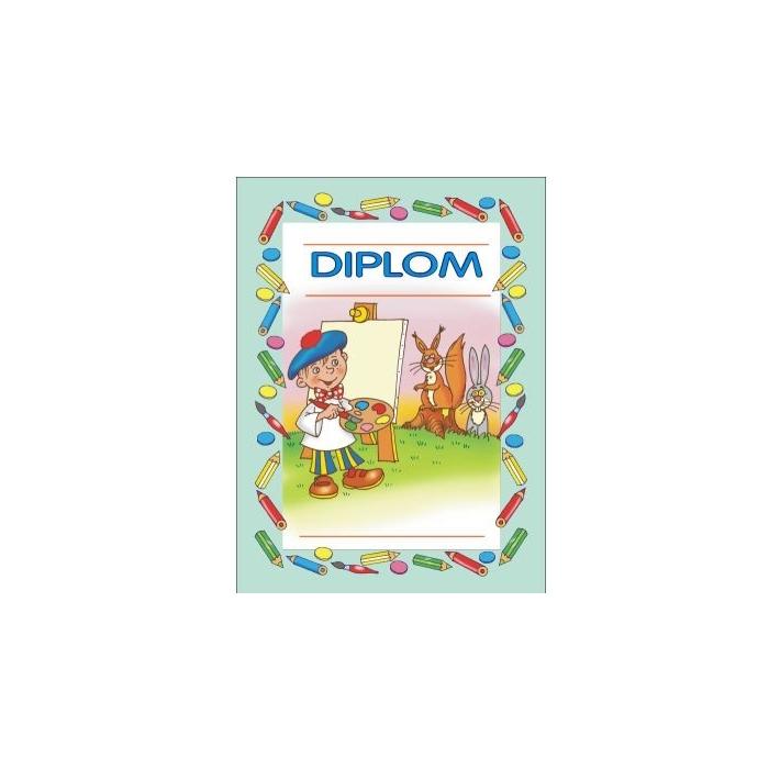 Diplom A5 - Výtvarník