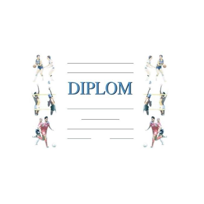 Diplom A4 - Míčové hry