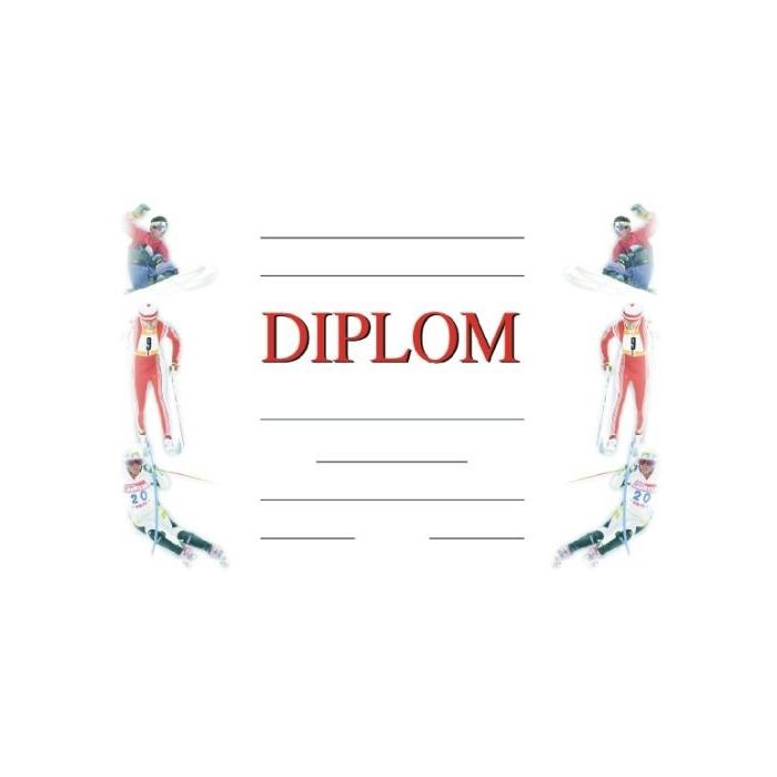 Diplom A4 - Zimní - obecný