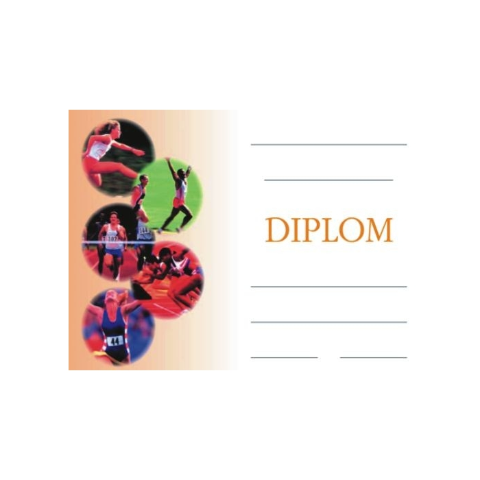 Diplom A5 - Atletika