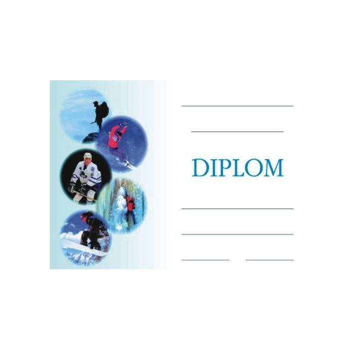 Diplom A5 - Zimní sporty