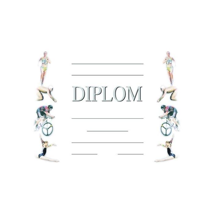 Diplom A4 - Sportovní - letní