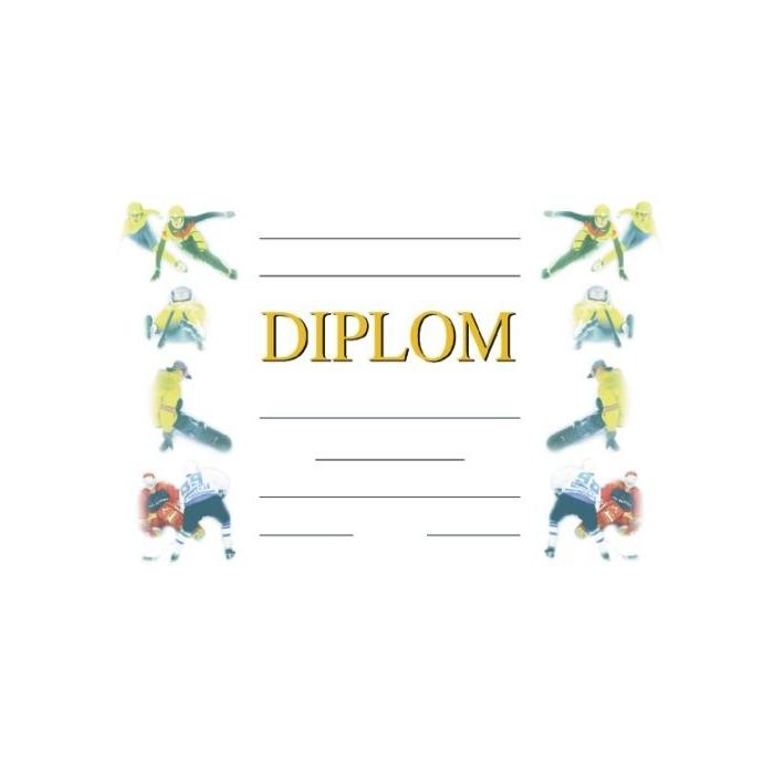Diplom A4 - Zimní hry