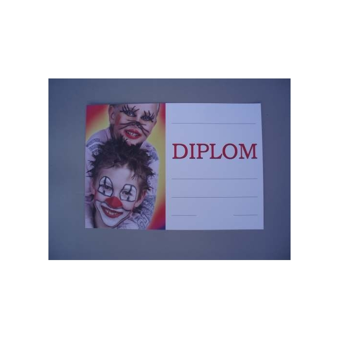 Diplom A4 - Karneval