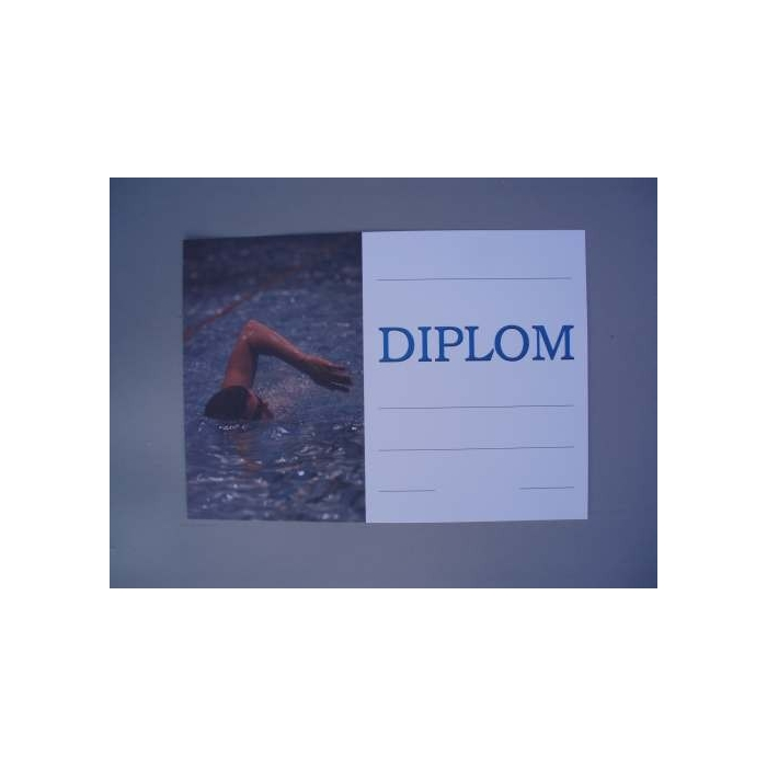 Diplom A4 - Plavecký