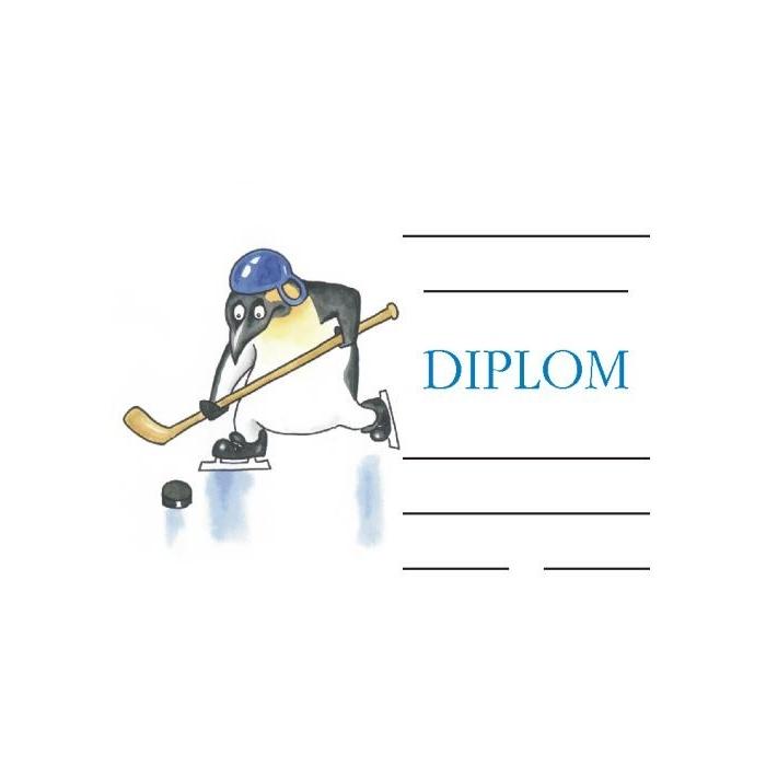 Diplom A5 - Tučňák
