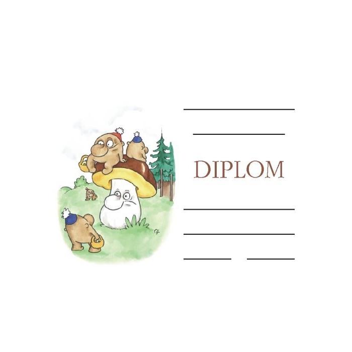 Diplom A5 - Hříbeček