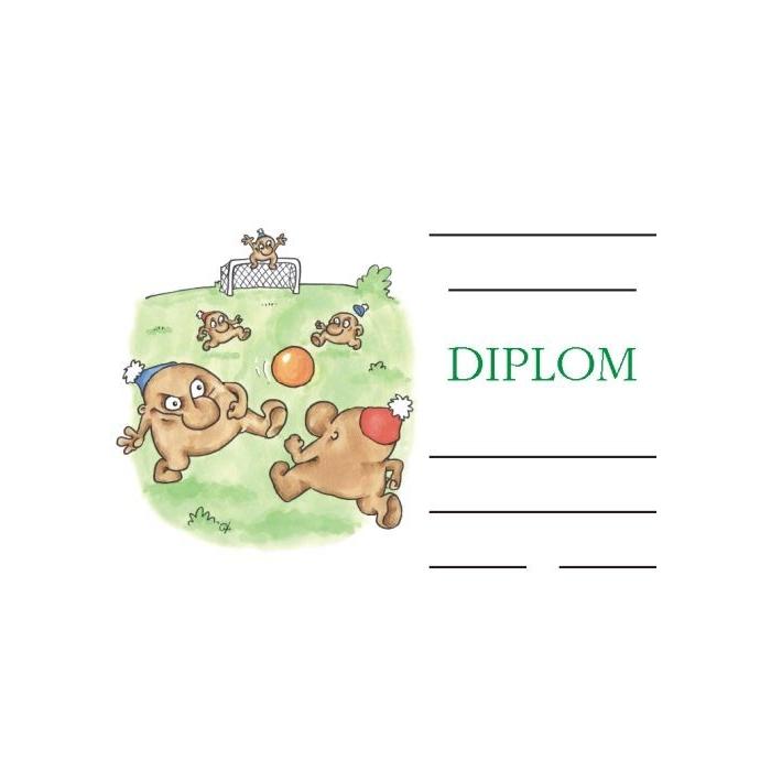 Diplom A5 - Kopaná II.