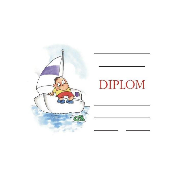 Diplom A5 - Jachta