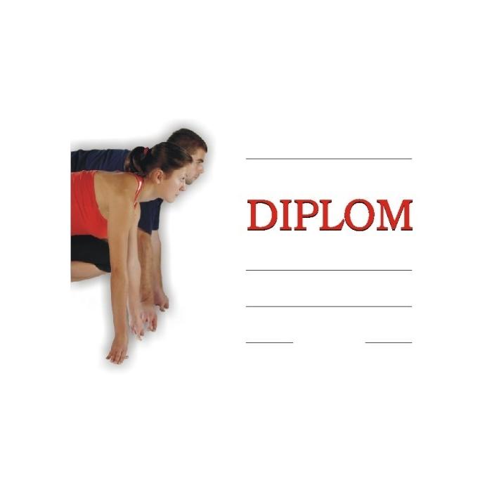 Diplom A4 - Atletika