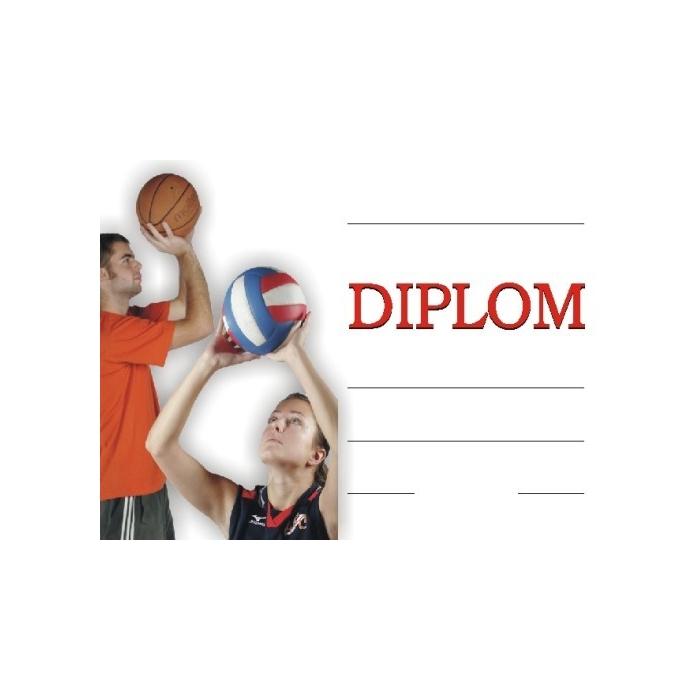 Diplom A4 - Míčové hry 2